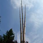 Stangen für Umbul-Umbul-(Asia-)Fahnen